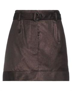 Мини юбка Brunello cucinelli