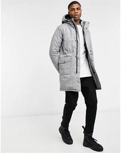 Зимняя куртка парка в клетку Wesc