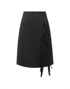 Шерстяная юбка Brunello cucinelli