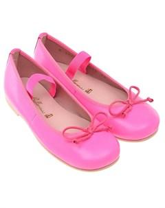 Туфли цвета фуксии детские Pretty ballerinas