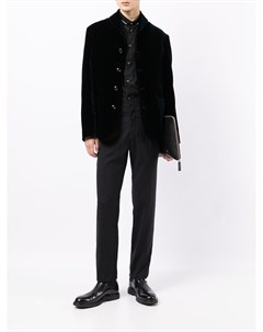 Бархатный пиджак Giorgio armani