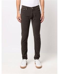 Вельветовые брюки скинни Pt05