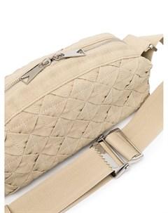 Плетеная поясная сумка Bottega veneta