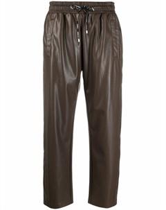 Укороченные брюки с эластичным поясом Pinko