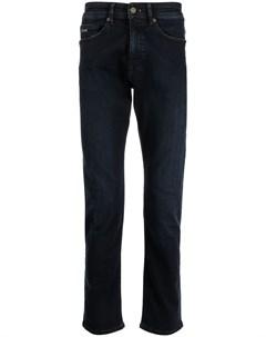 Прямые джинсы средней посадки Boss