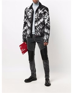 Джинсовая куртка Drill с принтом тай дай Philipp plein