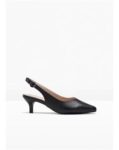 Туфли с открытой пяткой Bonprix