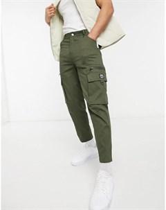 Суженные книзу брюки в утилитарном стиле Wesc