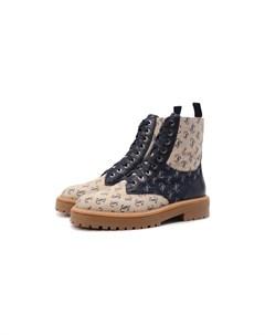 Текстильные ботинки Cora Jimmy choo