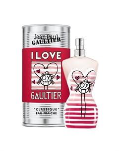 Classique Eau Fraiche Andre Edition I Love Jean paul gaultier