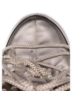 Дутые сапоги со шнуровкой Moon boot