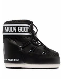Ботинки на шнуровке с логотипом Moon boot