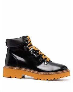 Ботинки хайкеры на шнуровке Hogan