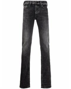 Узкие джинсы с заниженной талией Diesel