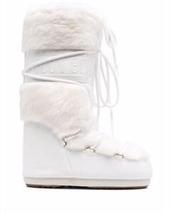 Сапоги с искусственным мехом Moon boot