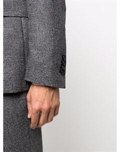 Клетчатый костюм с однобортным пиджаком Tagliatore