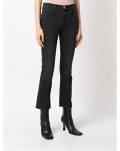 Укороченные джинсы кроя слим Pinko
