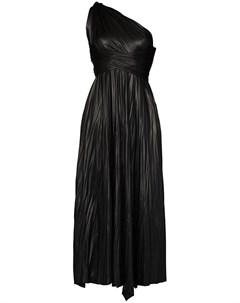 Длинное платье Kyndall на одно плечо Maria lucia hohan