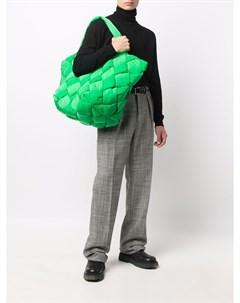 Плетеная сумка тоут Cassette Bottega veneta