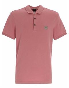 Рубашка поло с нашивкой логотипом Boss