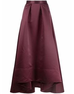 Длинная юбка с асимметричным подолом Pinko