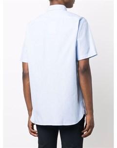 Рубашка с вышитым логотипом Tommy hilfiger