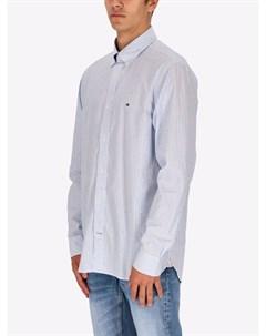 Легкая рубашка в полоску Tommy hilfiger