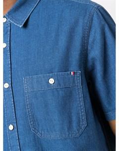 Джинсовая рубашка на пуговицах Tommy hilfiger