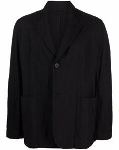 Однобортный пиджак с жатым эффектом Casey casey