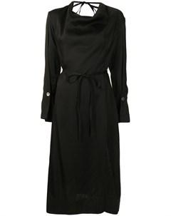 Драпированное платье миди Eudon choi