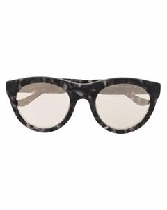 Солнцезащитные очки в круглой оправе Donna karan