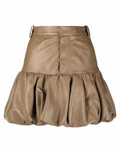 Короткая юбка свободного кроя Dsquared2