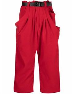 Укороченные брюки широкого кроя Barbara bologna