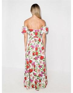 Платье макси Juliet с открытыми плечами Borgo de nor