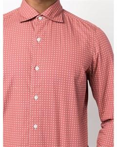 Рубашка в полоску Finamore 1925 napoli