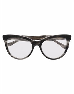 Очки в оправе кошачий глаз Donna karan
