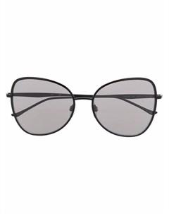Солнцезащитные очки в оправе бабочка Donna karan