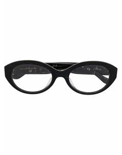 Очки в овальной оправе Donna karan