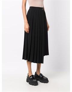 Плиссированная юбка асимметричного кроя Parosh
