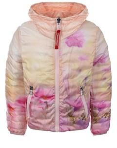 Двухсторонняя куртка с цветочным принтом детская Freedomday