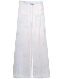 Barbara bologna брюки с эластичным поясом Barbara bologna