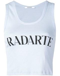 Rodarte топ radarte с принтом Rodarte
