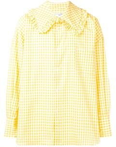 Comme des garcons shirt boys рубашка в клетку гингем Comme des garçons shirt boys
