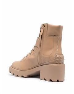 Ботинки с пряжками Tod's