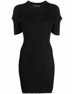 Платье футболка в рубчик Barbara bologna