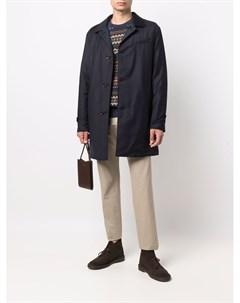Однобортное пальто длины миди Kired