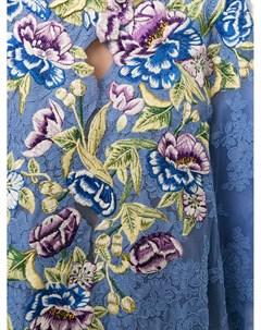 Кафтан с вышивкой Marchesa