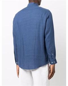 Льняная рубашка на пуговицах Bluemint