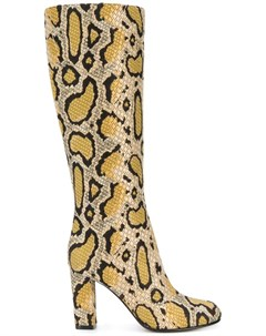 etro леопардовые сапоги Etro