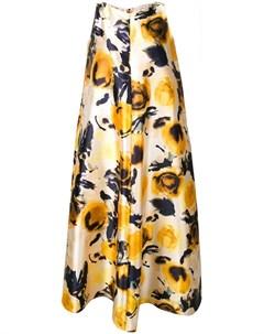 Sartorial monk платье в стиле оверсайз с цветочным принтом Sartorial monk